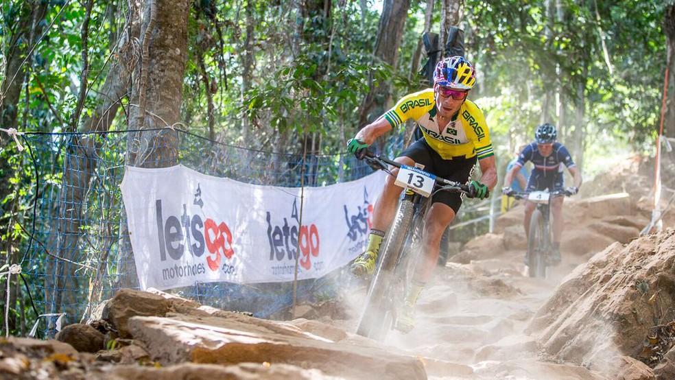 ciclismo mountain bike Henrique Avancini (Foto: Michelle Mondini)