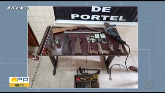 Mulher é presa suspeita de fabricar armas caseiras em Portel, no Marajó