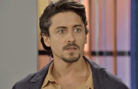 Na segunda-feira (22), Jerônimo (Jesuíta Barbosa) sofrerá um acidente de moto durante uma perseguição da polícia e será dado como morto TV Globo