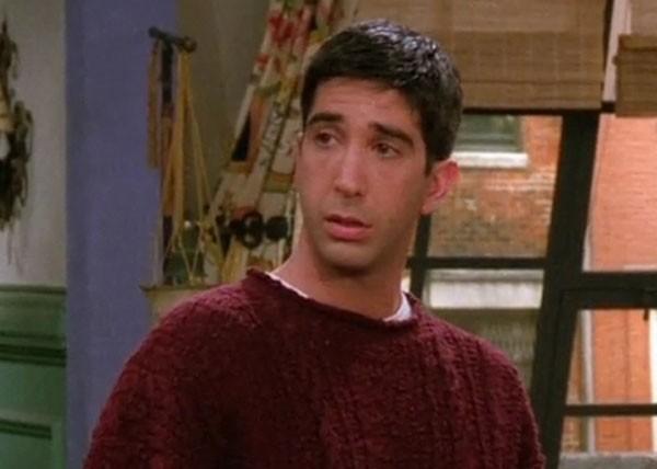 David Schwimmer é até hoje lembrado pelo personagem Ross Geller na série 'Friends' (Foto: Divulgação)