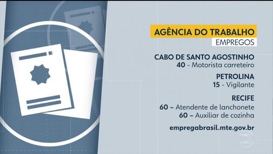 Emprego: Grande Recife e Zona da Mata têm 255 vagas