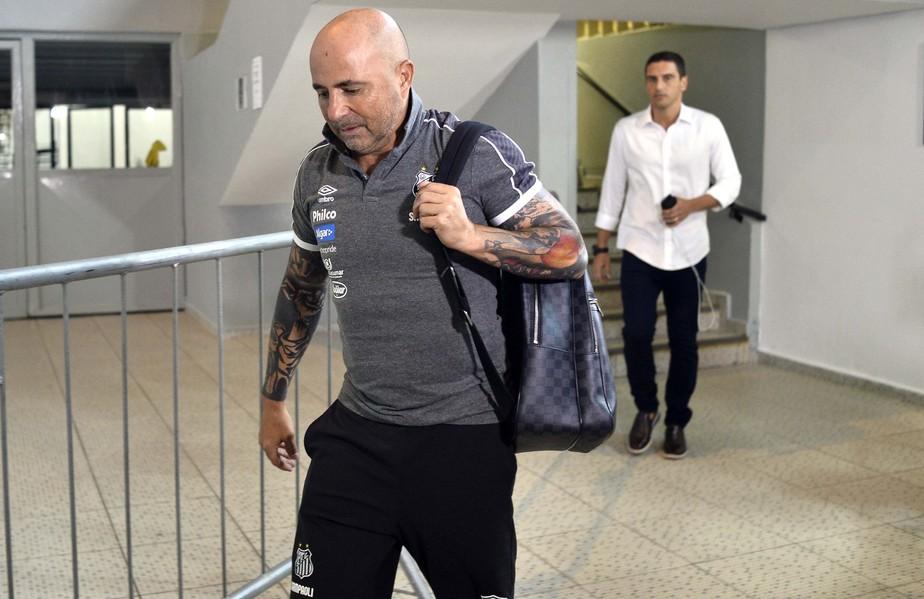 Jorge Sampaoli não é mais técnico do Santos