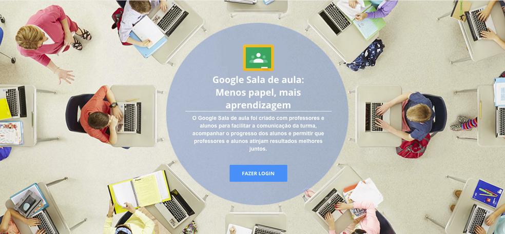 O Google Classroom é uma ferramenta fundamental para as escolas durante a pandemia do COVID-19 — Foto: Divulgação/Google