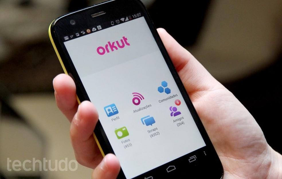 O Orkut terminou em 2014; rede social faria 15 anos — Foto: Barbara Mannara/TechTudo