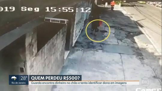 Guarda municipal devolve R$ 500 perdidos por mulher em rua de São Cristóvão
