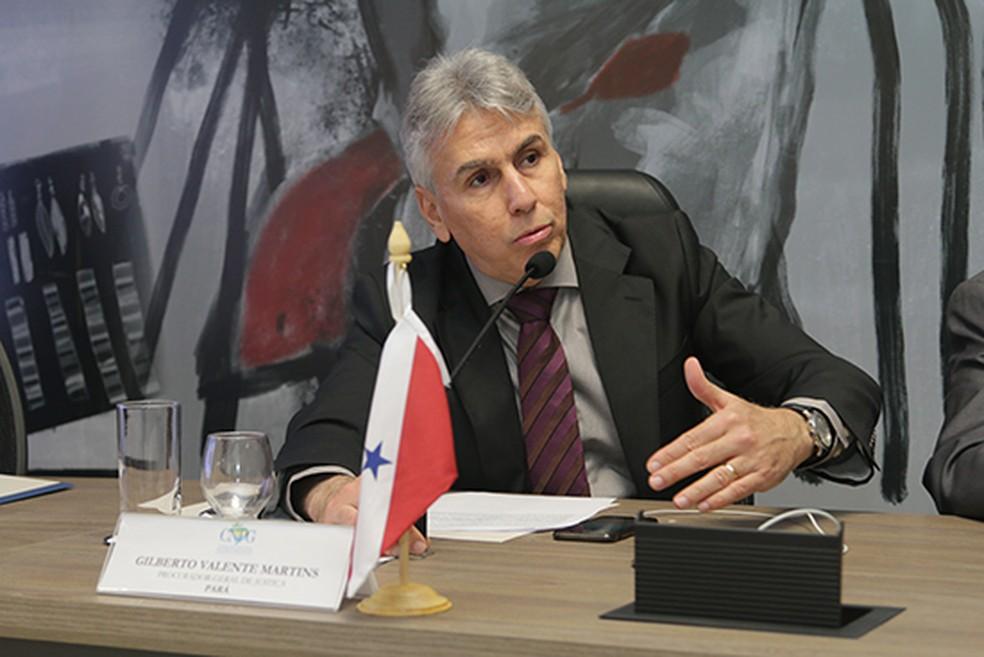 Procurador-geral do Estado, Gilberto Martins — Foto: MPPA/Divulgação