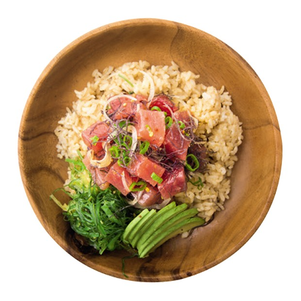 ahi poke bowl on brown rice (Foto: Getty Images/iStockphoto)