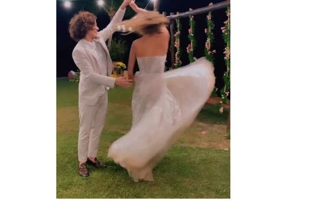 Sasha e João dançando na festa (Foto: Reprodução/Instagram)