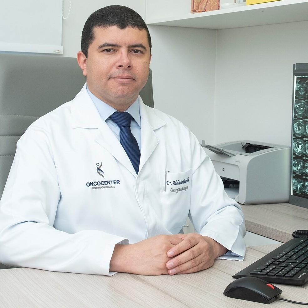 Dr. Adalzizio Vieira de Araújo Filho CRM - MT: 3943 / RQE: 1995 — Foto: Oncocenter