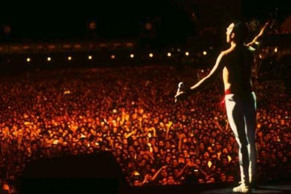 Queen no Rock in Rio 1985 (Foto: Arquivo / Monet)