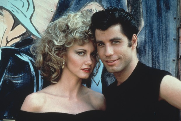 Olivia Newton-John e John Travolta em 'Grease' (Foto: Getty Images)