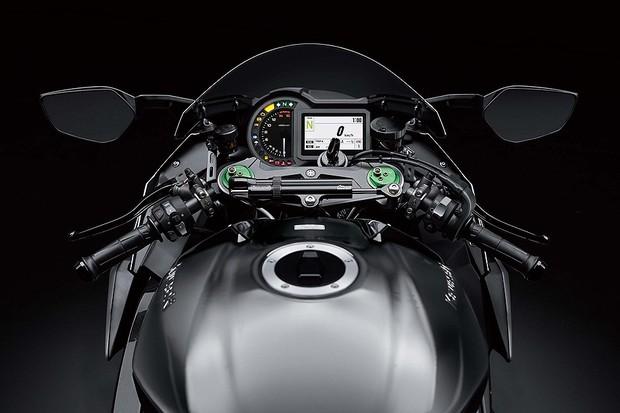 Kawasaki Ninja H2 Carbon 2019 (Foto: divulgação)
