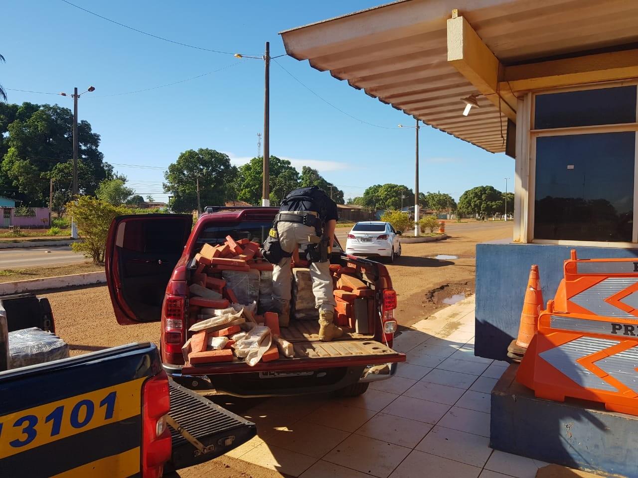 Caminhonete com 850 quilos de maconha é apreendida no sudeste do Pará - Notícias - Plantão Diário