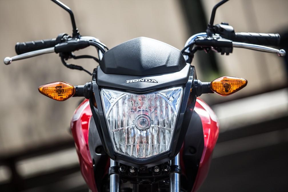 Honda CG 125 Fan  — Foto: Raul Zito/G1