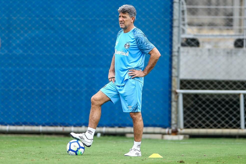 44de02f7af ... Renato diz que meta do Grêmio é garantir lugar no G-4 — Foto