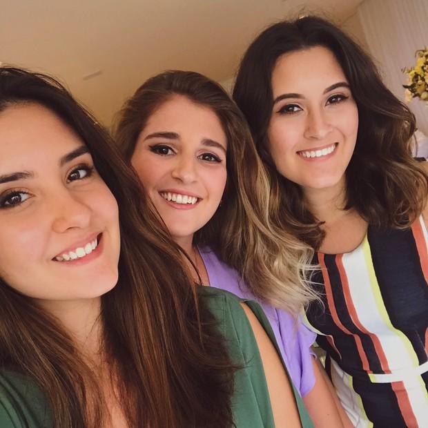 Laura Bonemer, Thalita Martins e Beatriz Bonemer (Foto: Reprodução/Instagram)