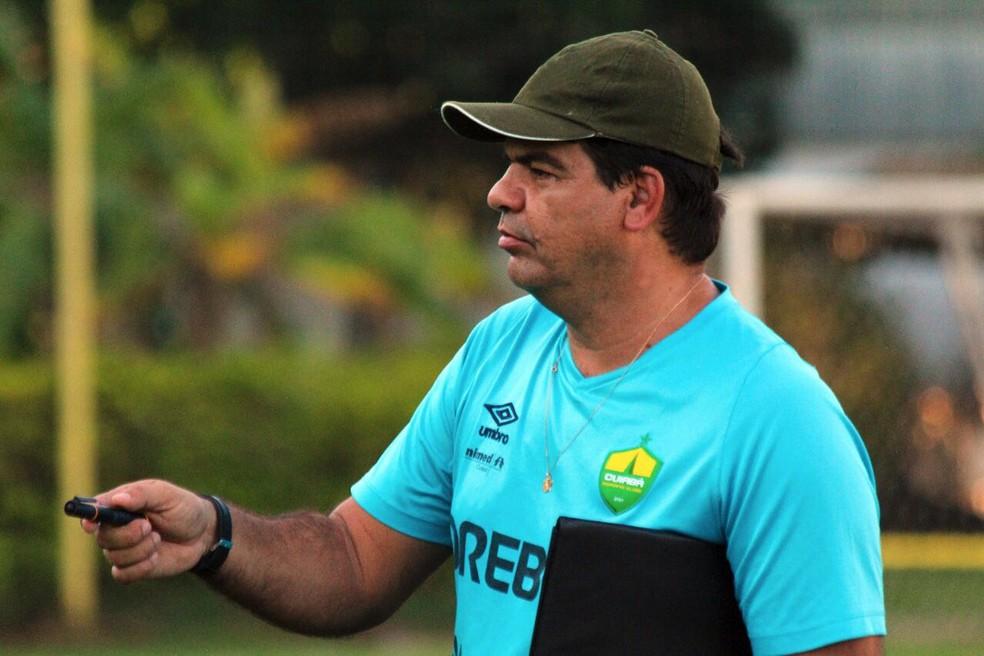 Moacir Júnior conta detalhes sobre projeto do Sampaio (Foto: Pedro Lima/Cuiabá EC)
