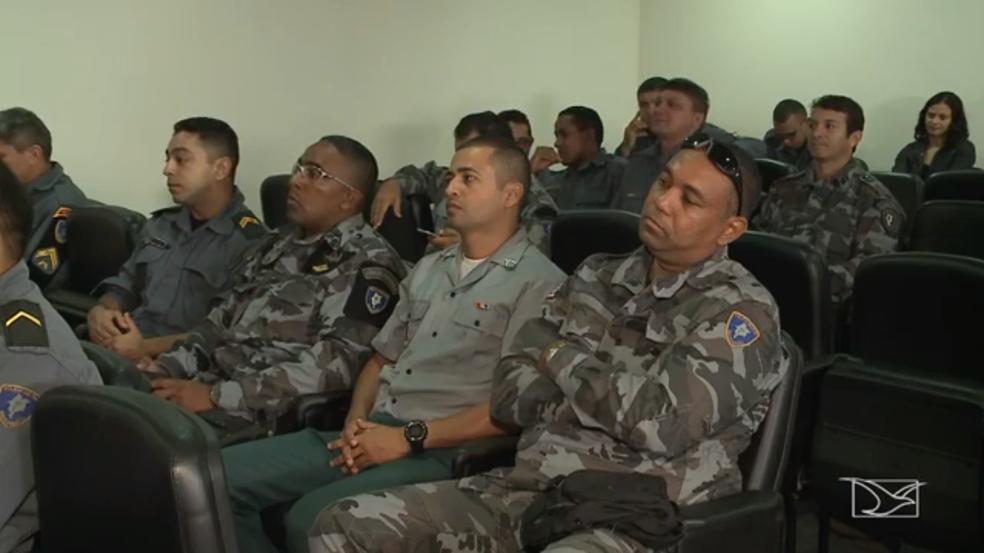 Policiais acusados de motim em Bacabal são absolvidos pela justiça (Foto: Reprodução/TV Mirante)