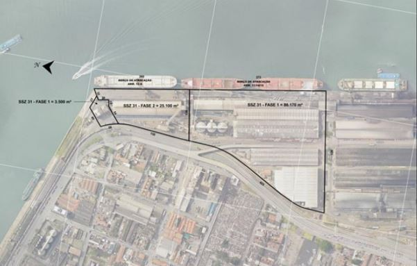 Governo Federal qualifica terminal de granéis sólidos, em Santos, junto ao PPI