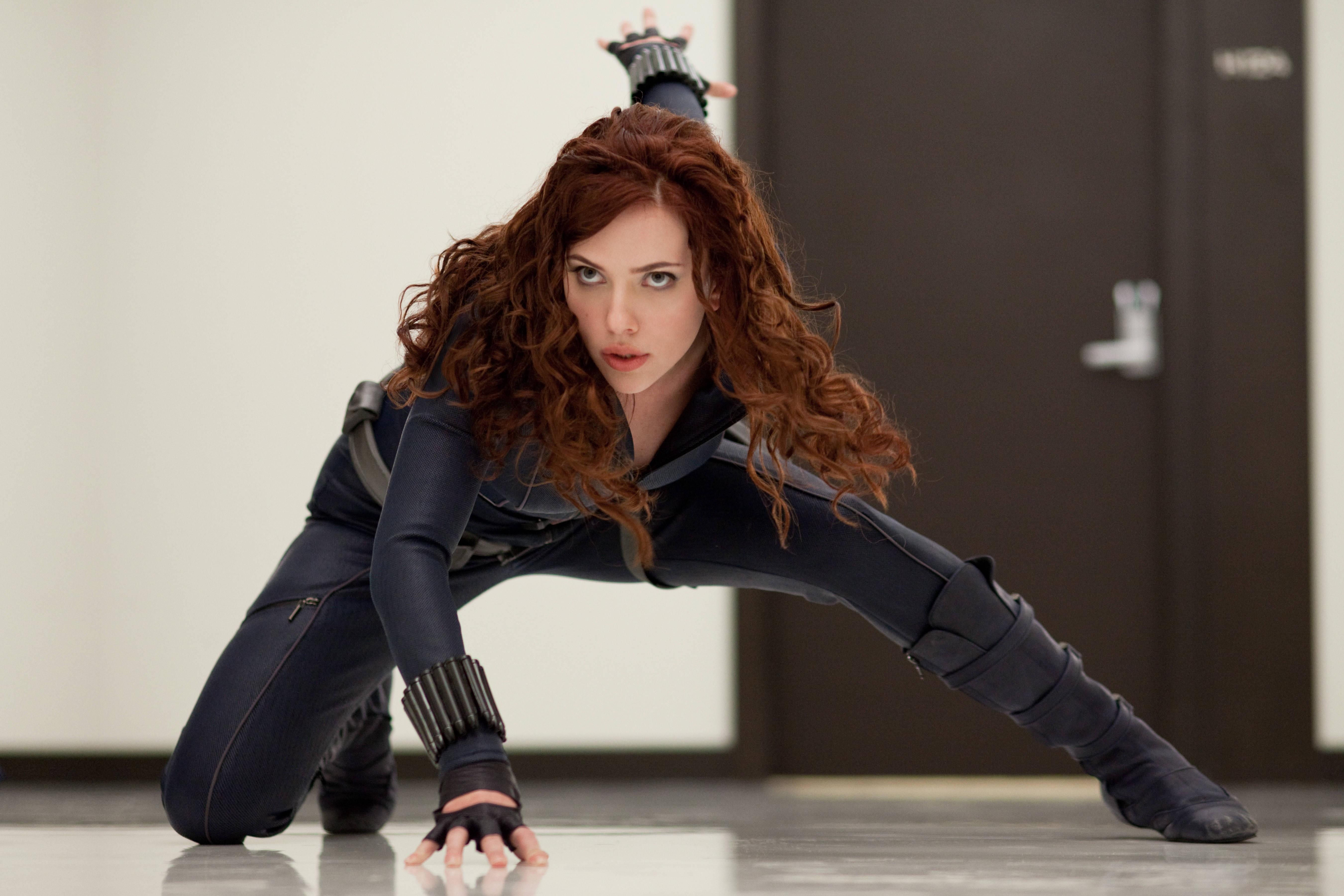 Scarlett Johansson como a Viúva Negra em 'Homem de Ferro 2' (Foto: Divulgação)