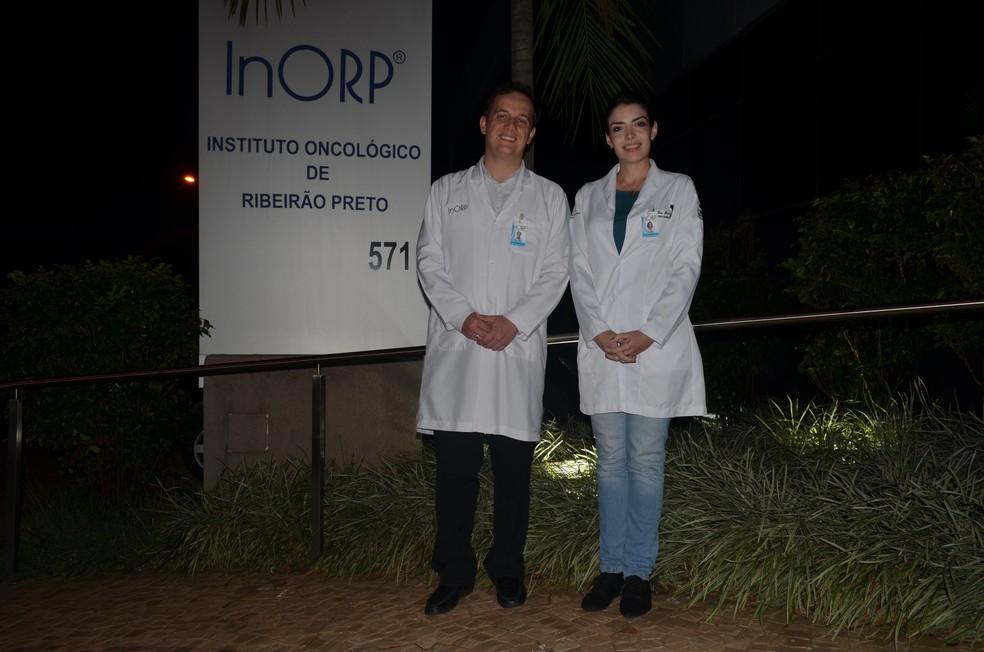 Atualmente, André e seus colegas de trabalho atuam em unidades de saúde de Ribeirão Preto (Foto: LG Rodrigues / G1)