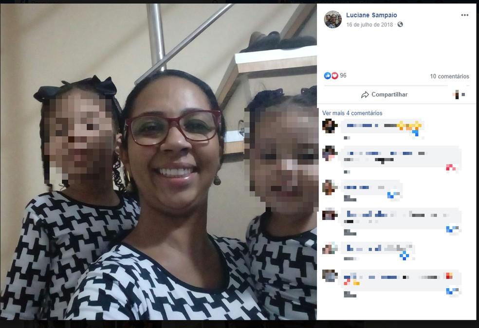 Luciane de Jesus Sampaio de Freitas, 36 anos — Foto: Reprodução/Redes Sociais