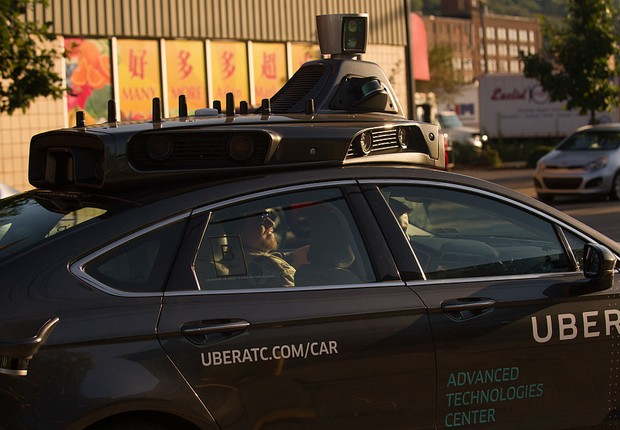 Carro autônomo do Uber (Foto: Jeff Swensen/Getty Images)