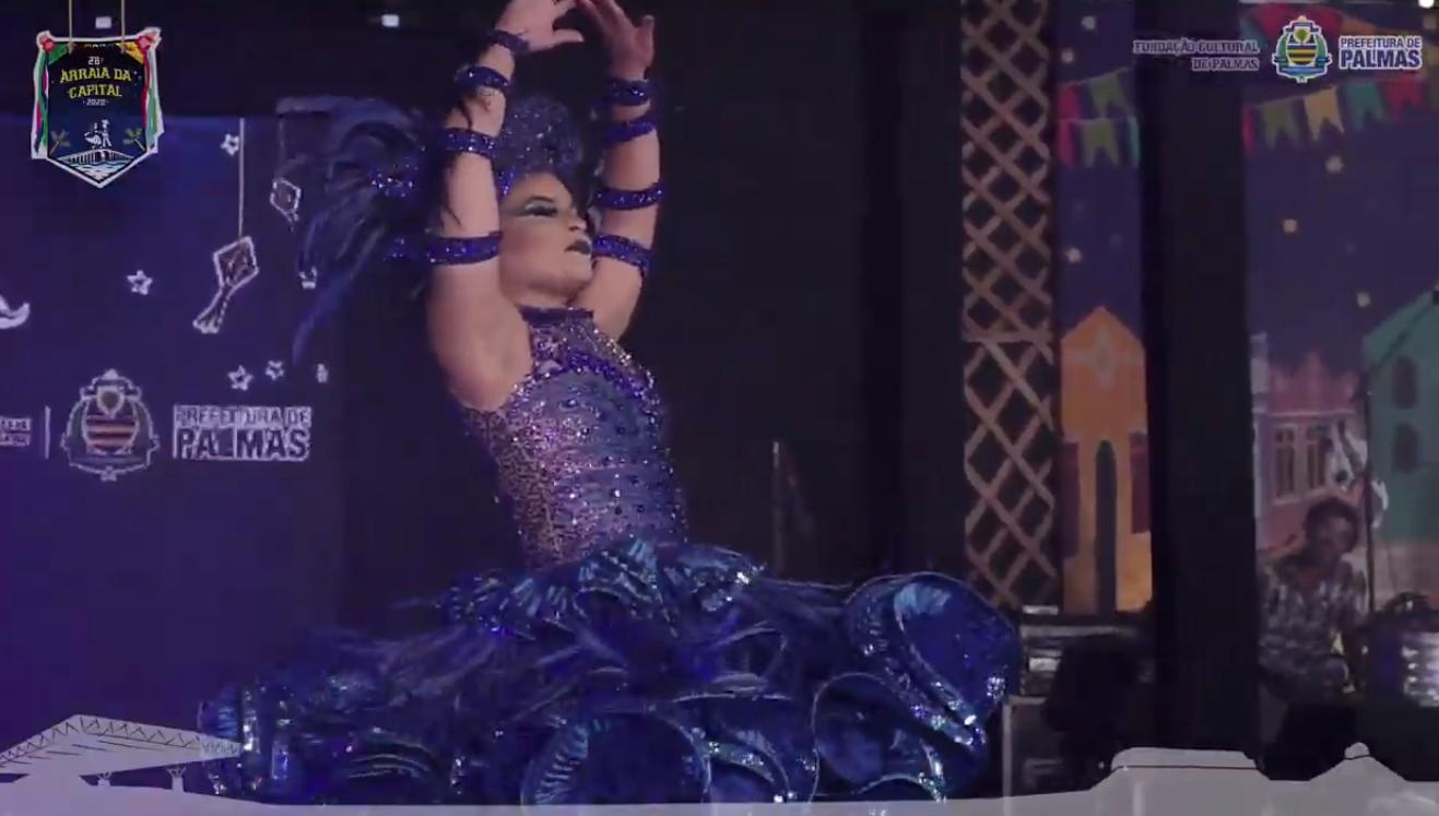 Dançarina da Matutos da Noite é eleita rainha do Arraiá da Capital 2020