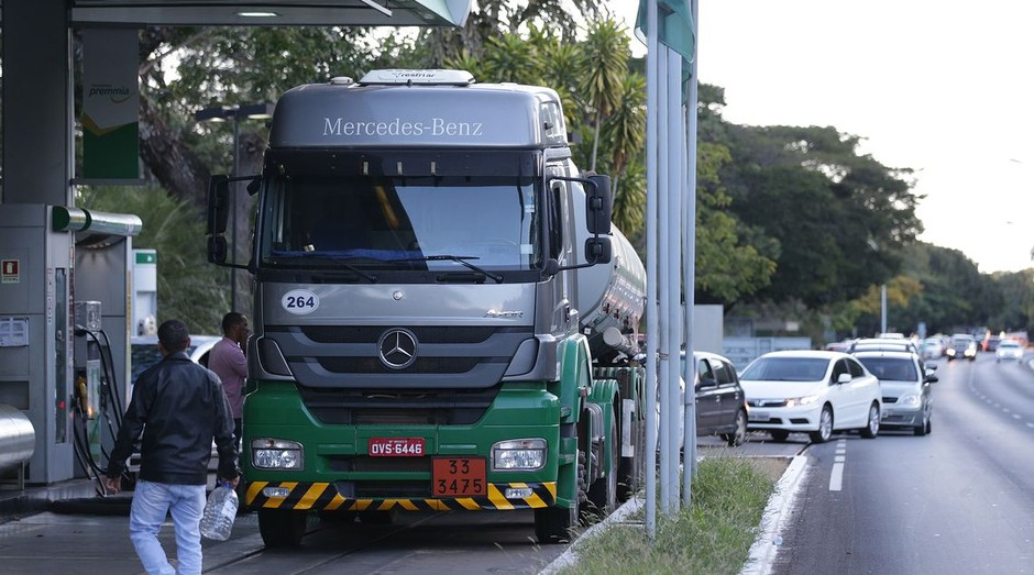 Posto de gasolina  (Foto: Marcello Casal jr/Agência Brasil )