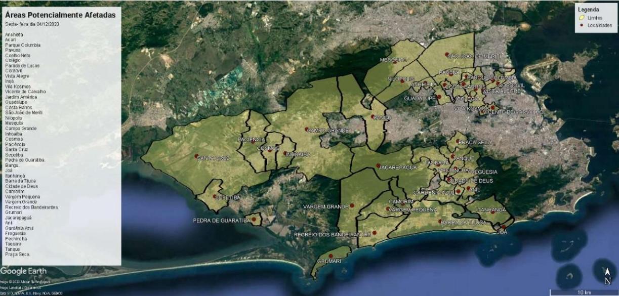 Cerca de 40 bairros do Rio e 3 cidades da Baixada Fluminense podem ficar sem água; confira lista