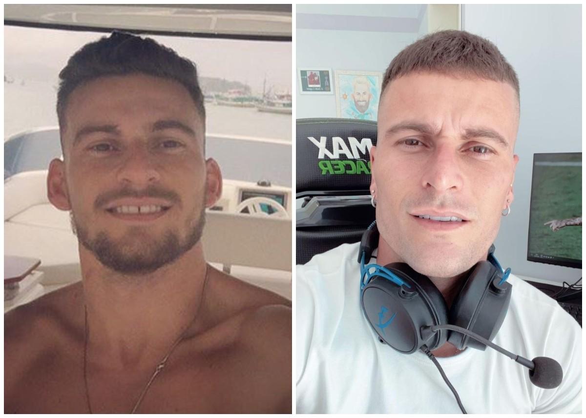 Lucas Lima, do Palmeiras, faz harmonização facial; veja antes e depois -  Quem