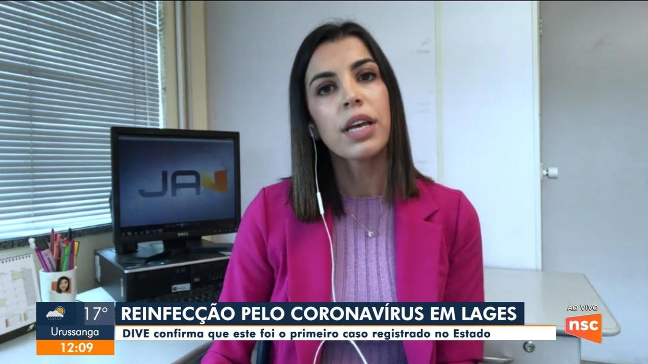 SC confirma o primeiro caso de reinfecção pelo coronavírus no estado