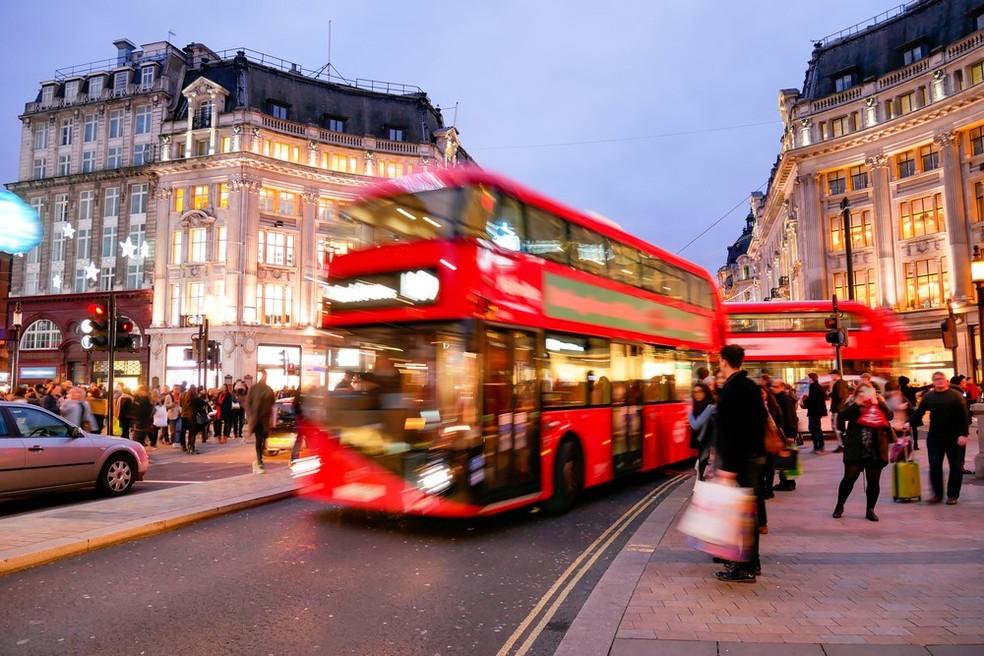 Londres, no Reino Unido (Foto: Divulgação)