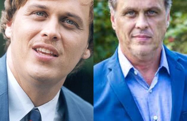 Guilherme Fontes viveu Luís Antônio, executivo do mercado financeiro que vê a vida mudar ao reencontrar a afilhada, Cristal. O trabalho mais recente do ator foi em 'Órfãos da Terra' (2019) (Foto: TV Globo - Reprodução/Instagram)