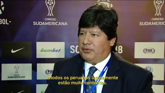 """Dirigente peruano destaca valor de ter atleta """"do tamanho de Guerrero"""" na Copa"""