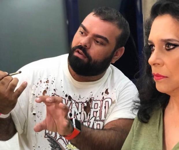 Everson Rocha e Gal Costa (Foto: Reprodução/Instagram)