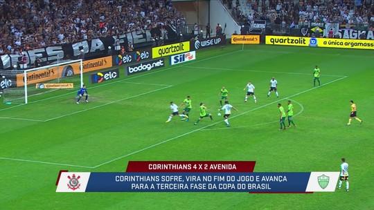 Corinthians se classifica no sufoco, mas expõe falhas da defesa