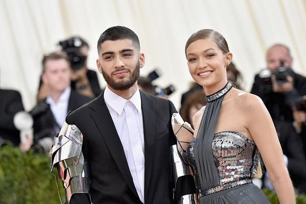 Zayn Malik e Gigi Haddid (Foto: Getty Images)