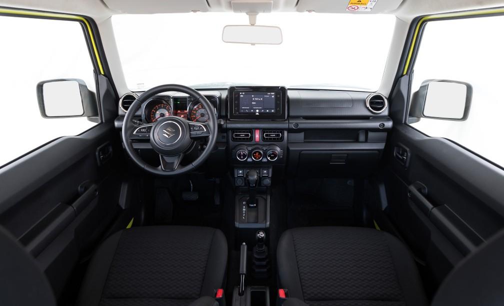 Suzuki Jimny Sierra — Foto: Divulgação/Suzuki