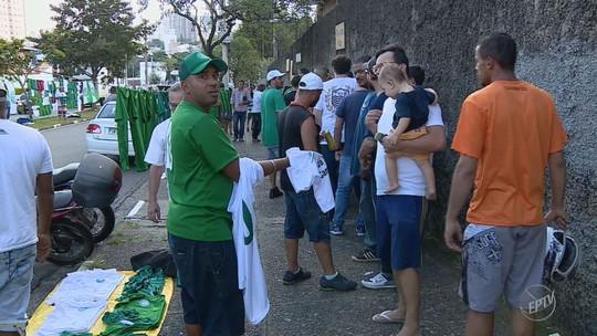 Com ingressos do tobogã esgotados, Guarani prepara clima para a decisão