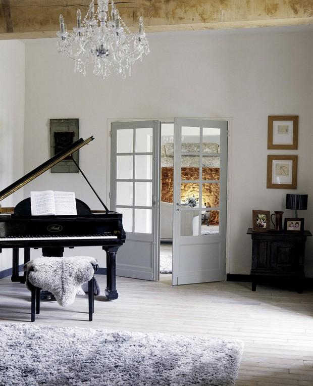 Décor do dia: piano de cauda na sala (Foto: Divulgação)