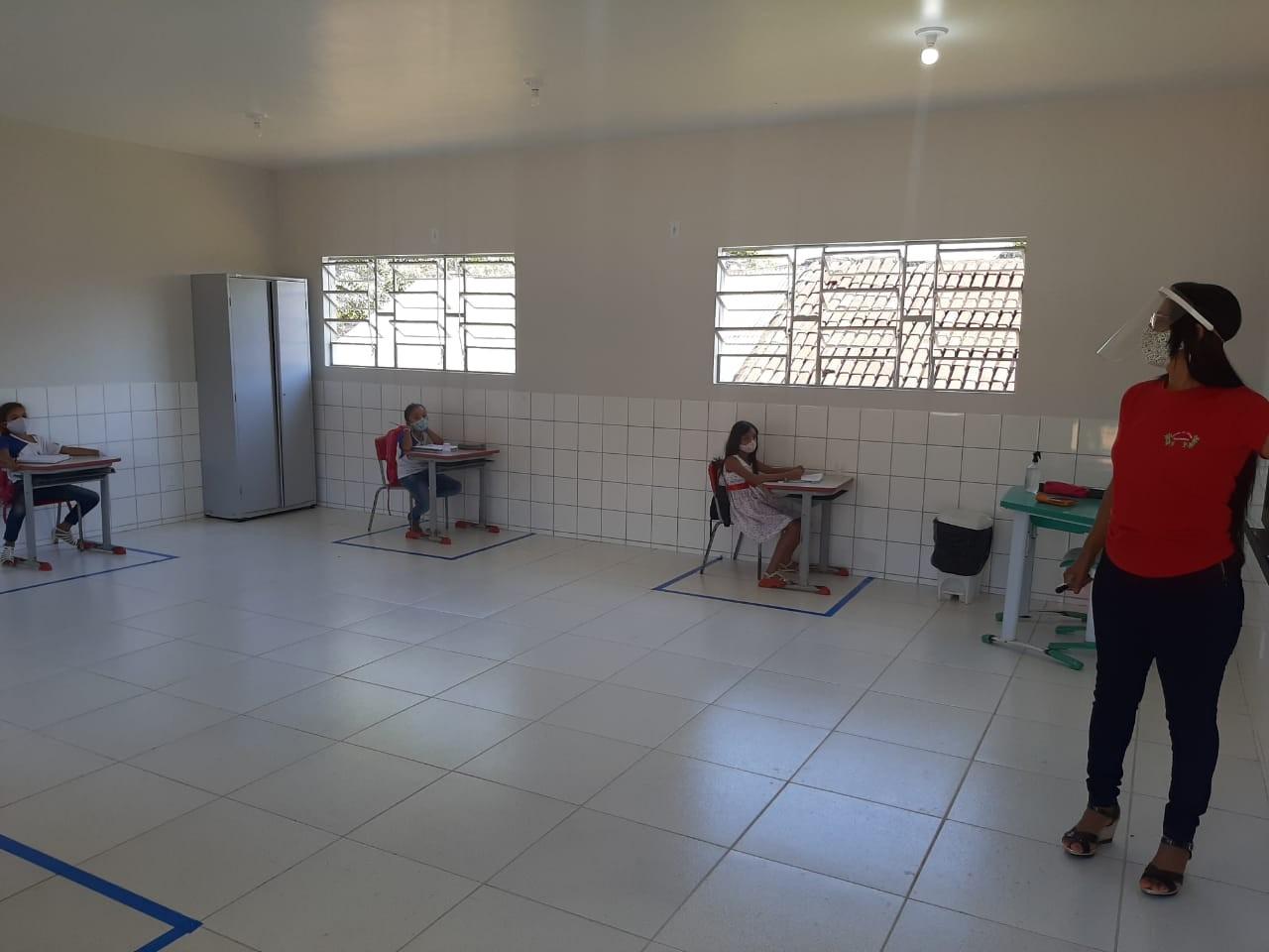 Alunos da zona rural de Araguaína são os primeiros a voltar às aulas no Tocantins