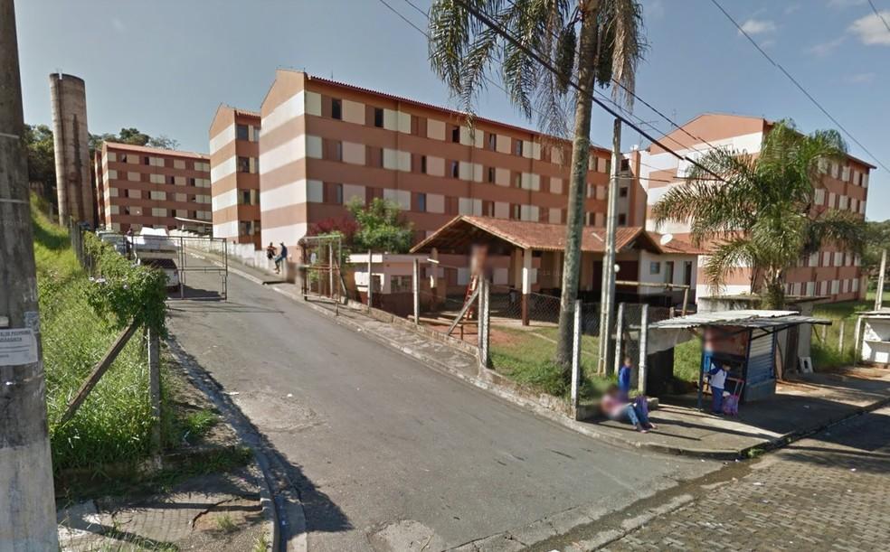 Pai é suspeito de matar duas crianças em Guarulhos, segundo a Guarda Civil Metropolitana — Foto: Reprodução/ Google Street View