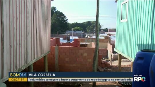 Grupo de voluntários quer levar rede de água e esgoto a Vila Corbélia