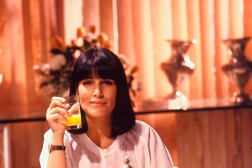 Maria de Fátima, personagem de Gloria Pires em 'Vale Tudo', era ambiciosa e mau-caráter — Foto: Acervo/CEDOC