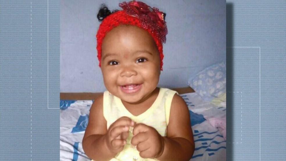 Jaqueline, filha do casal, também nasceu na ambulância — Foto: Reprodução/ TV Gazeta