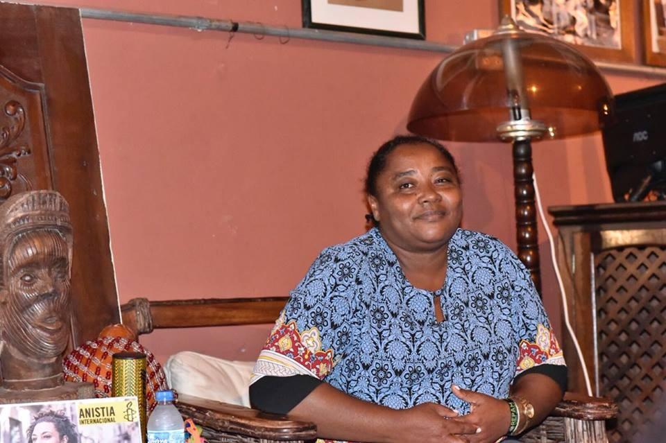 Anacleta Pires da Silva, de 51 anos, é quilombola do Santa Rosa dos Pretos (Foto: Veronica Falcón)