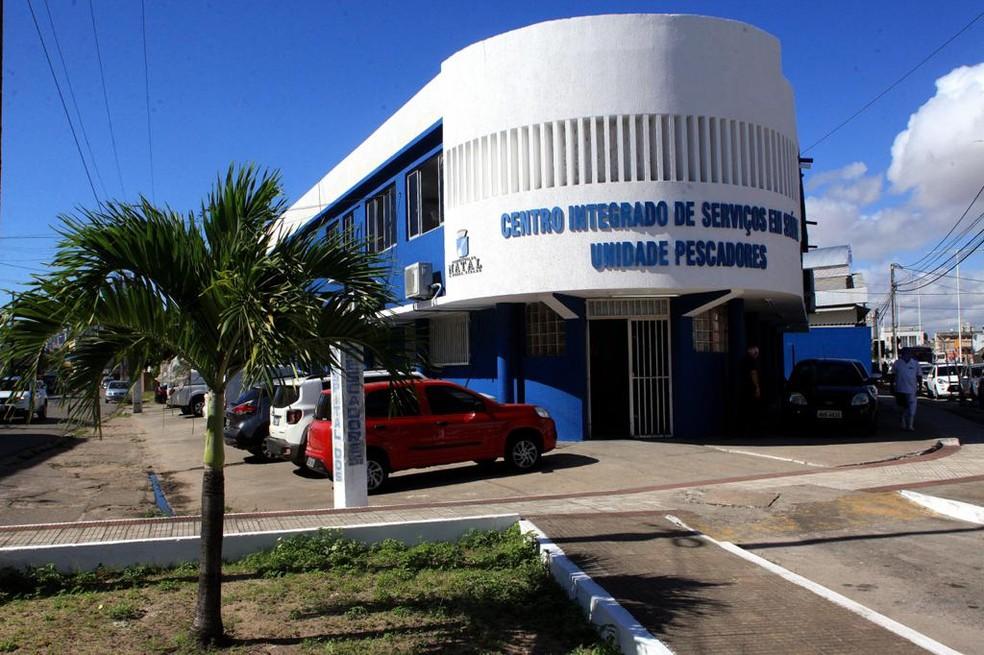 Hospital dos Pescadores, no bairro das Rocas, será exclusivo para o atendimento de pacientes com Covid-19 — Foto: Alex Régis