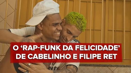 MC Cabelinho e Filipe Ret fundem rap e funk com tom social e jeito de hino dos anos 90 em 'Favela'