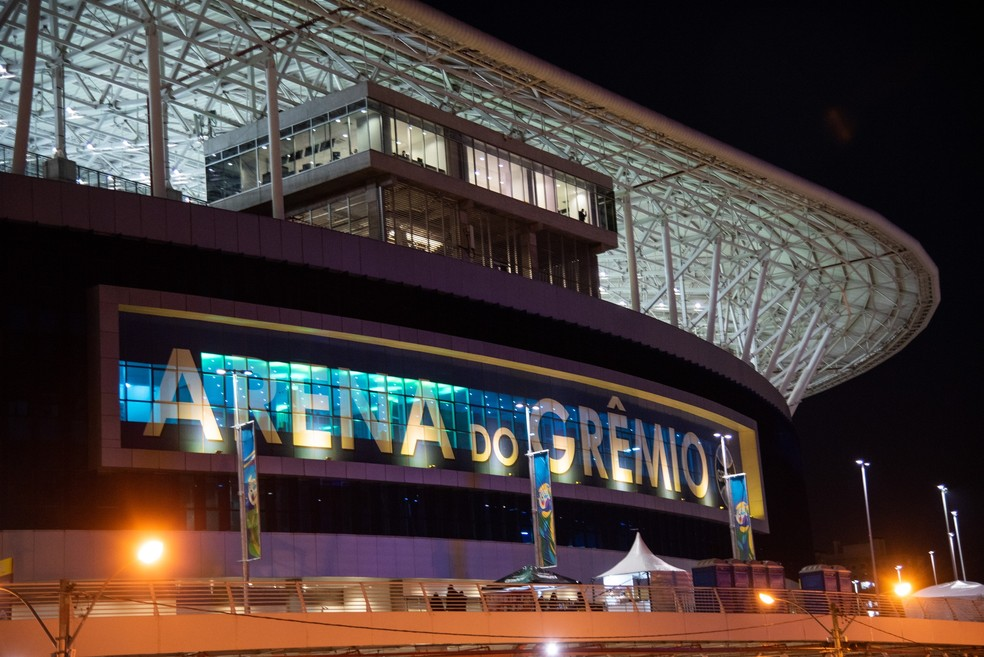 Obras no entorno do estádio impedem fechamento do negócio — Foto: RODRIGO ZIEBELL/FRAMEPHOTO/FRAMEPHOTO/ESTADÃO CONTEÚDO